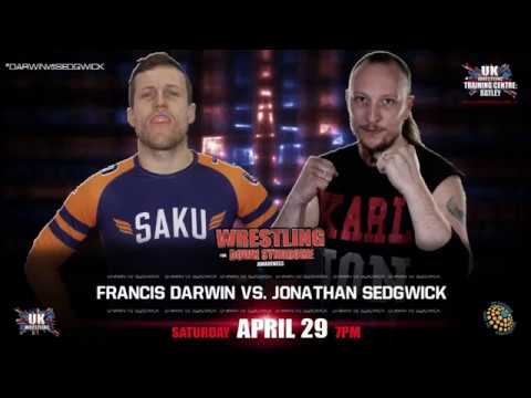 Francis Darwin is ready for April 29th