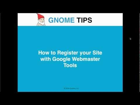 How to Register your Site with Google Webmaster Tools | Gnome Tips
