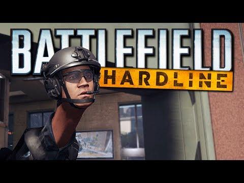 Battlefield Hardline Funny Moments - Riot Shield Glitch, Donuts, Bad Cops, EPIC Fails! (Funtage!)