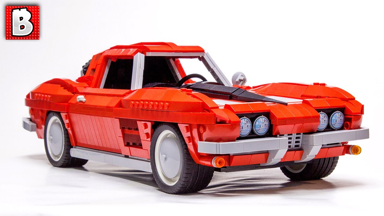 lego corvette 1963 sting ray moc top 10 mocs of the week youtube. Black Bedroom Furniture Sets. Home Design Ideas