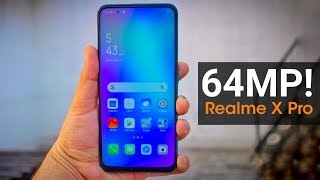 Realme X Pro - 64MP Quad Camera, 5G, Snapdragon 855 | Realme X Pro Full Specifications