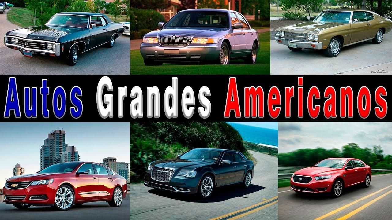 Autos Grandes Americanos Por Que Ya No Se Producen Youtube