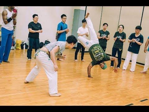 Mestre Esquilo (CDO) Highlight │2018 Capoeira Mandinga Taiwan Batizado