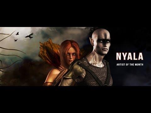 Renderosity Artist of the Month for October, 2017 - Nyala