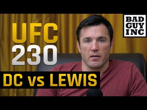 Derrick Lewis took his shorts off and got a title shot at UFC 230...