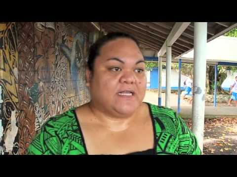 Samoana High School – Vandalized