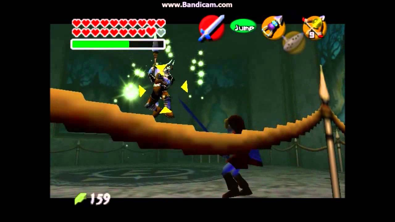 The Legend of Zelda Ocarina of Time - Versus Phantom Ganon