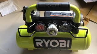 máy bơm hơi ryobi dùng pin 18v #ryobi#RYOBI