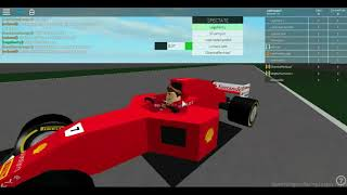 Qualification and Race on F1 ROBLOX