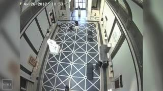 Worker falls through glass floor in Philly's Rodin Museum(http://www.phillyvoice.com/worker-gets-725m-settlement-after-being-injured-fall-rodin-museum/ Worker gets $7.25M in settlement after being injured in fall at ..., 2016-05-10T18:23:36.000Z)