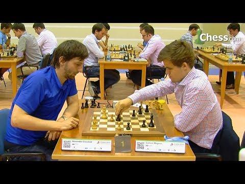 MAGNUS CARLSEN VS ALEXANDER GRISCHUK   BLITZ CHESS 2014 - WORLD BLITZ CHESS CHAMPIONSHIP 2014