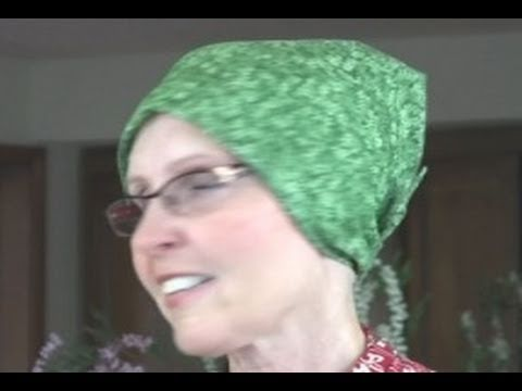 How To Make A Head Scarf (in HD)