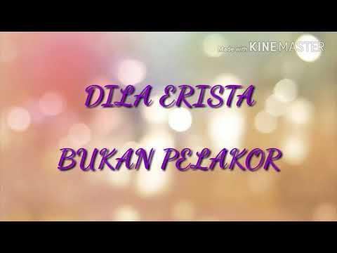 Dila Erista - Bukan Pelakor (Karaoke with lirik)