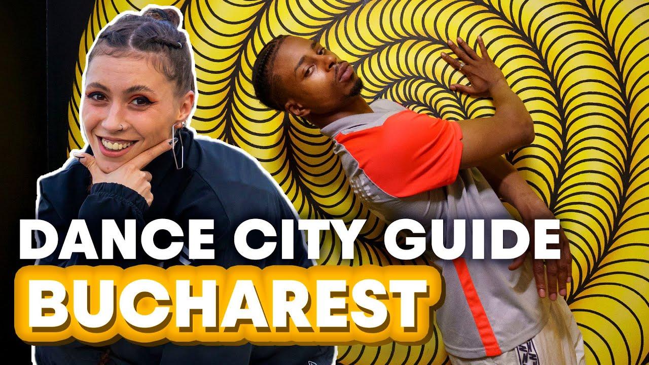 Dancer's TRAVEL GUIDE to BUCHAREST ft. Aura Vidroiu & Stalamuerte   Red Bull Dance City Guide