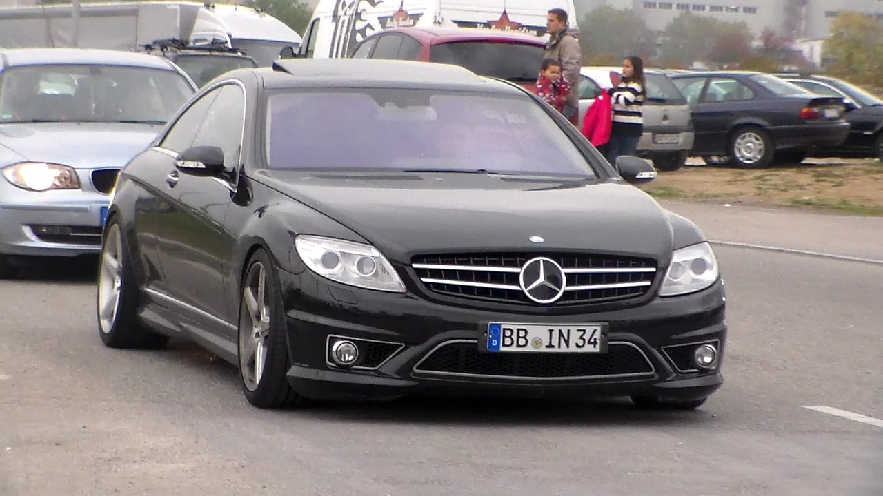 mercedes cl63 amg lovely sound hd youtube. Black Bedroom Furniture Sets. Home Design Ideas