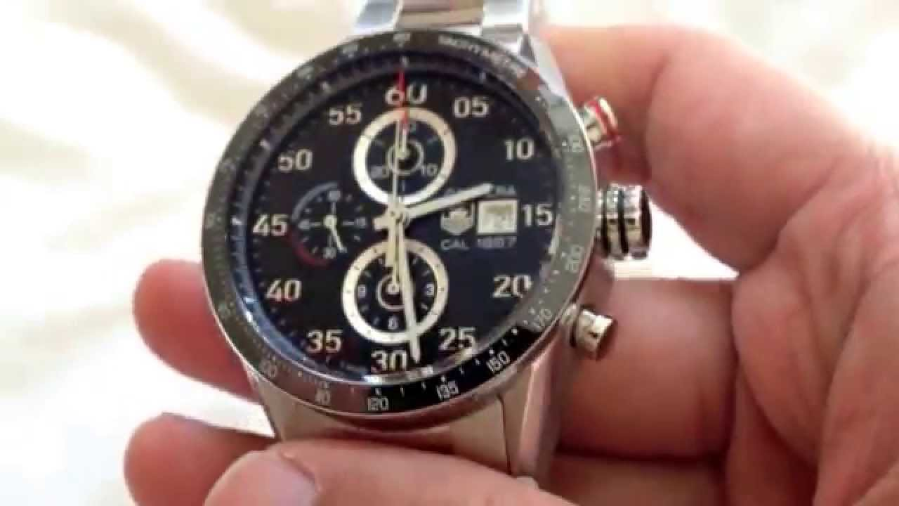 c3d64afa836 TAG Heuer Carrera Calibre 1887 - YouTube