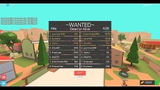 106 KDR!!! RECORDE MUNDIAL! BANDIT SIMULATOR GAMEPLAY ROBLOX