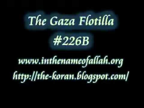 226B The Gaza Flotilla