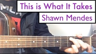 """""""This is What It Takes"""" - Shawn Mendes 