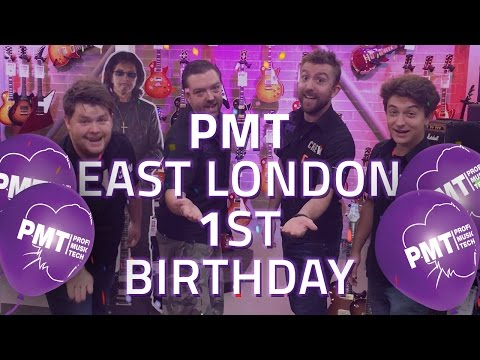 PMT East London First Birthday