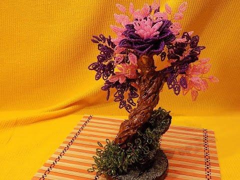 Дерево из бисера  Фантазия
