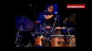 Marilyn Mazur: Extended Percussion Solo (11 Minutes) with Jan Garbarek - 2000