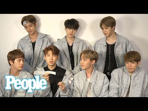 K-Pop Group BTS On Kanye West, Drake, Korean Snacks & More In Confess Sesh | People NOW | People