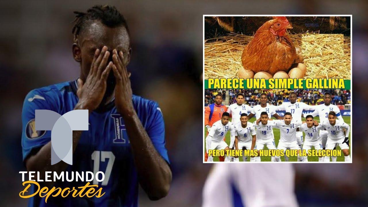 Honduras golea a El Salvador y queda eliminado de la Copa Oro