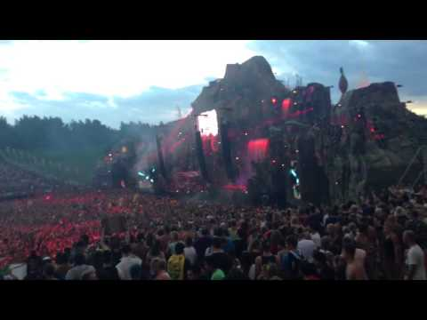 Hardwell- how we do (ft. Showtek) @ Tomorrowland 2013