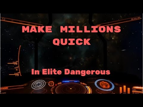 Make Millions Quick in Elite Dangerous by Trading