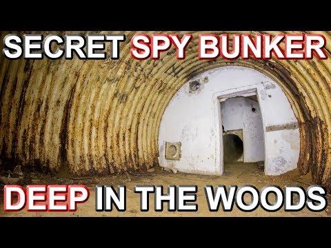 SECRET ABANDONED SPY BUNKER - Crawling the Spider Infested Tunnel