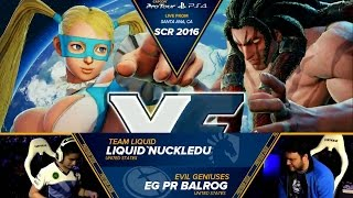 nuckledu r mika vs pr balrog necalli socal regionals 2016 top 8