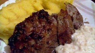 Голень индейки запеченная в духовке