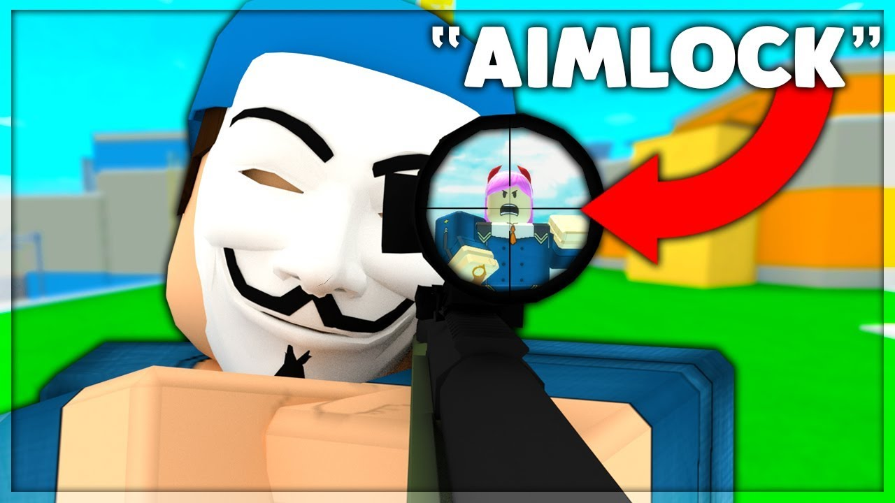Level 0 To 100 In Arsenal Aimlock Ep 3 Roblox Youtube