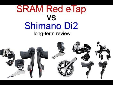 3842ec38b41 SRAM Red Etap vs. Shimano Di2 long term review - YouTube