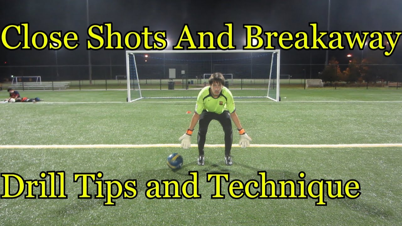 d32b17d1505 Goalkeeper Training  Close shots drills   tips - YouTube