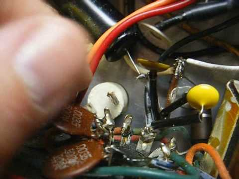 Repair of a Voice Of Music record player amplifier