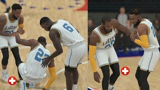 Lebron Got INJURED And Is Out For Weeks vs Ben Simmons! NBA 2K19 MyCareer Ep 25