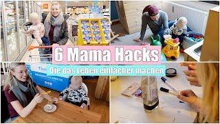 6 Hacks für ein einfacheres Mamaleben | Vorher/Nachher Vergleich | Isabeau