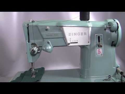 Singer 40 K Sewing Machie Made In Great Britain YouTube New Singer 347 Sewing Machine Instruction Manual