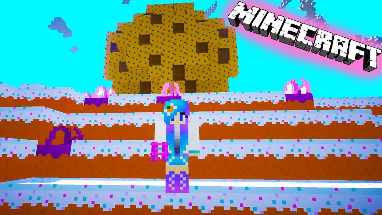 Wallpaper Chucky 3d Cookieswirlc Plays Minecraft Candy Sugar Land Gaming Cake