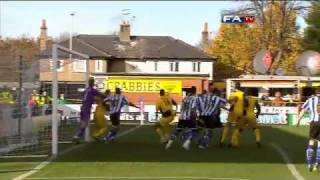 Southport 2-5 Sheff Wed - The FA Cup 1st Round - 07/11/10