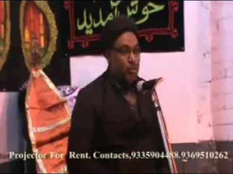 Majalis by Maulana Feroz Husain Zaidi in Lucknow part-3