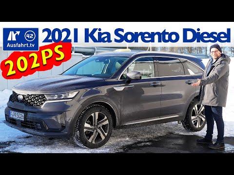 2021 Kia Sorento 2.2 CRDi Spirit AWD - Kaufberatung, Test deutsch, Review, Fahrbericht Ausfahrt.tv