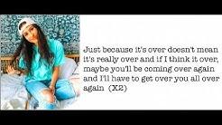 """""""Never Really Over"""" - Cimorelli (Cover - Lyrics)"""