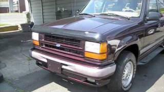1993 Ford Explorer Limited Before and After Overhaul Detailing