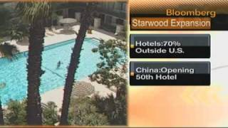 Starwood Hotels Looks Beyond U.S. for Growth Opportunity: Video