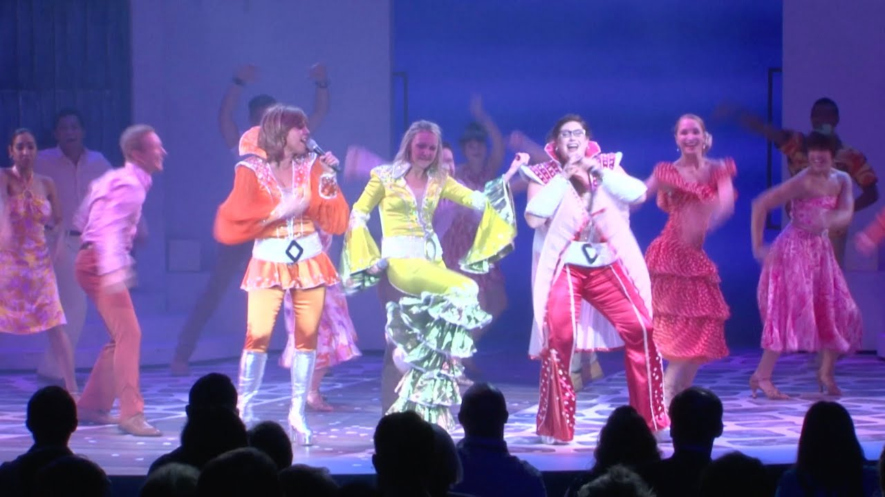 Experience Broadway Like Never Before Onboard Allure Of The Seas Youtube