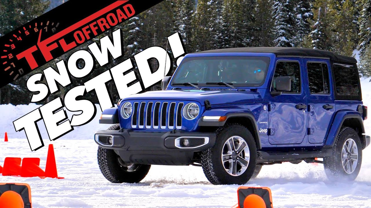 Jeep In Snow >> Here S How Well The 2019 Jeep Wrangler Sahara Copes On The Snow