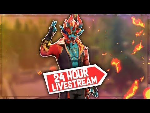 🔴 15 HOUR LIVE STREAM | With Face Cam (; | Fortnite Battle Royale (SEASON 8)